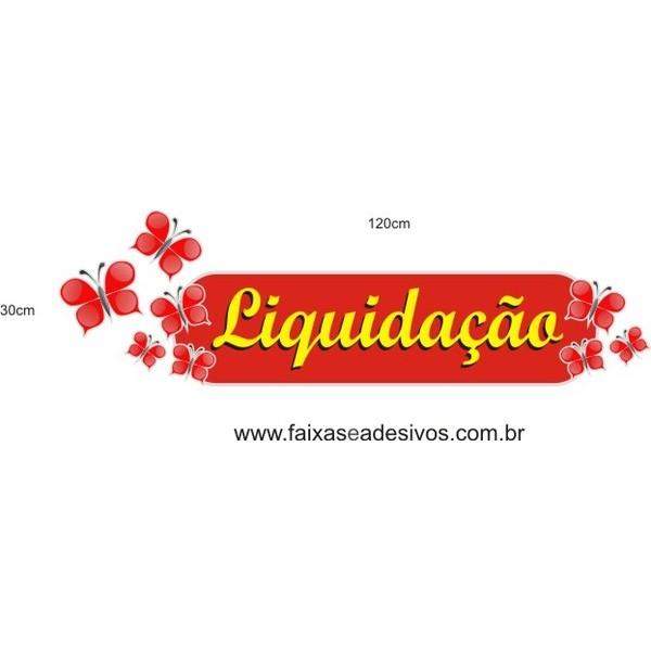 Adesivo Boton Liquidação Borboletas   - Fac Signs