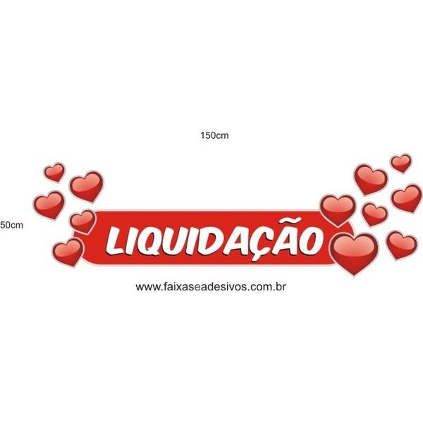 Adesivo Boton Liquidação Corações   - Fac Signs