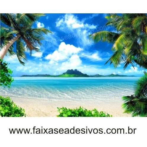 Painel Decorativo Praia  - Fac Signs
