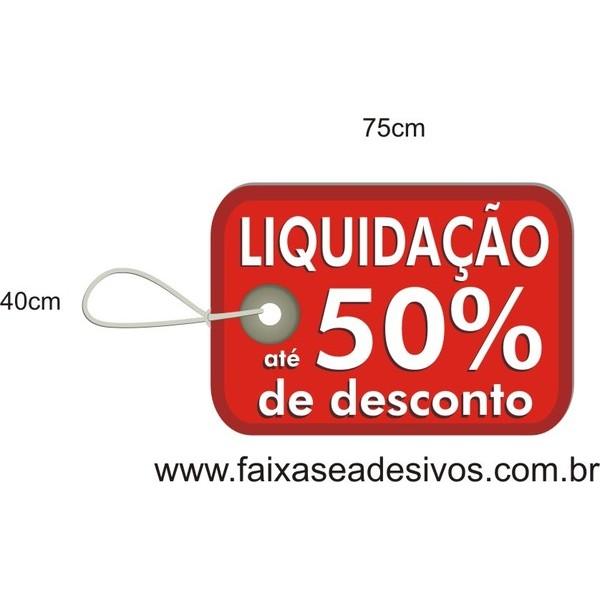 Adesivo Pratic TAG 75 x 40cm  - Fac Signs