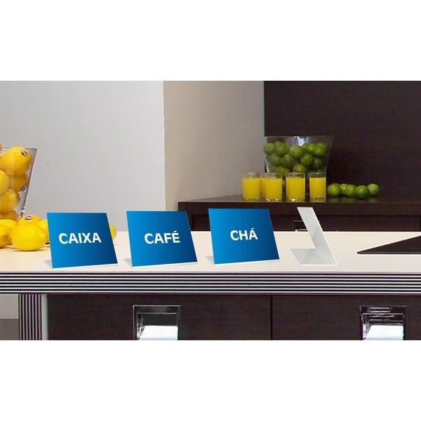 Display de Balcão 10 x 15cm  - FAC Signs Impressão Digital
