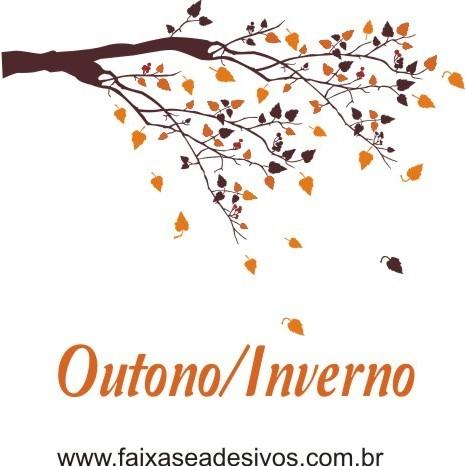 Adesivo Decorativo Galho de Outono 1,00 x 1,45m  - Fac Signs