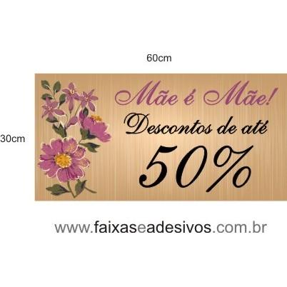 Adesivo Mãe Wood purpura 60x30cm  - Fac Signs