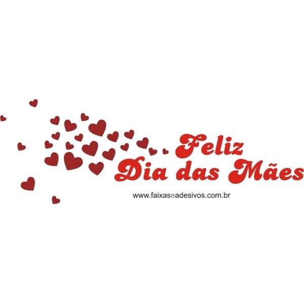 Adesivo Dia das Mães vento de corações  - Fac Signs