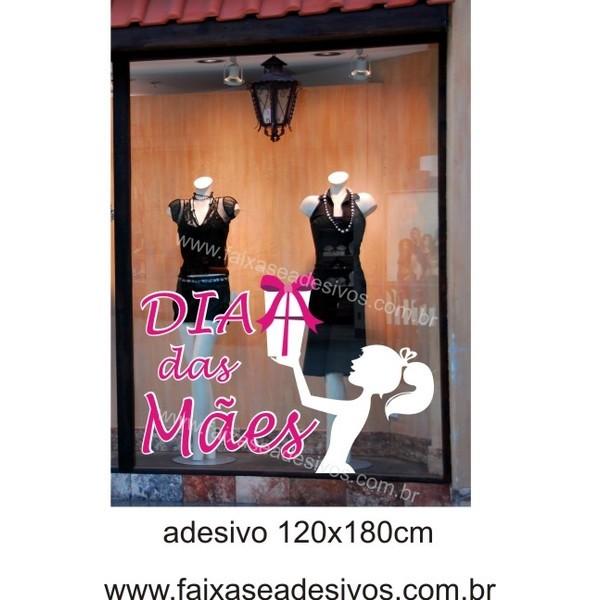 Adesivo Dias das Mães Jovem 1,20 x 1,80m  - Fac Signs