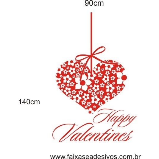 Adesivo Happy Valentines  - Fac Signs