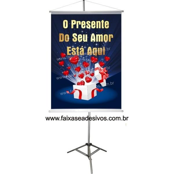 Banner Dia dos Namorados (diversos tamanhos)  - Fac Signs