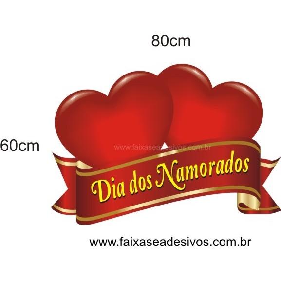 Adesivo Flamula do Amor 80 x 60cm  - Fac Signs