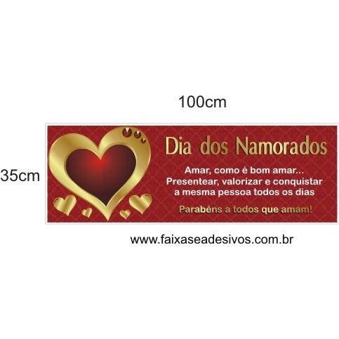 Adesivo Valorizar o Amor 1,00 x 0,35m  - Fac Signs