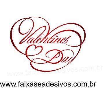 Adesivo Valentines Day Risque 60x60  - FAC Signs Impressão Digital
