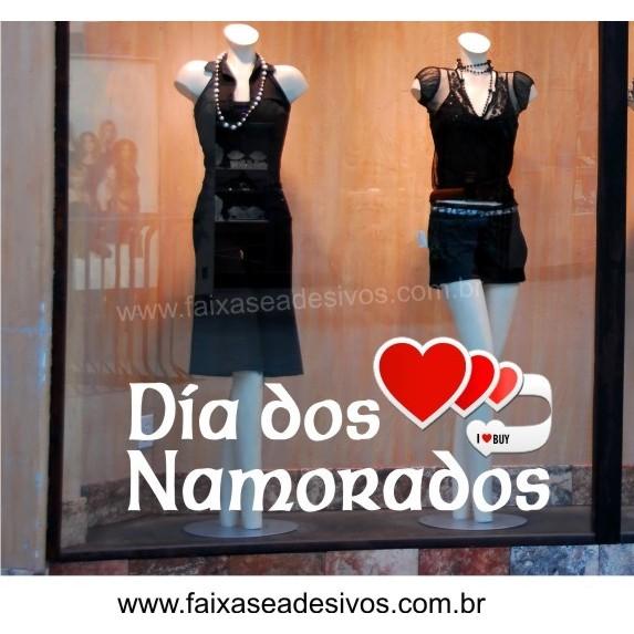 Adesivo Coração I Love Buy 90 x 0,35m  - FAC Signs Impressão Digital
