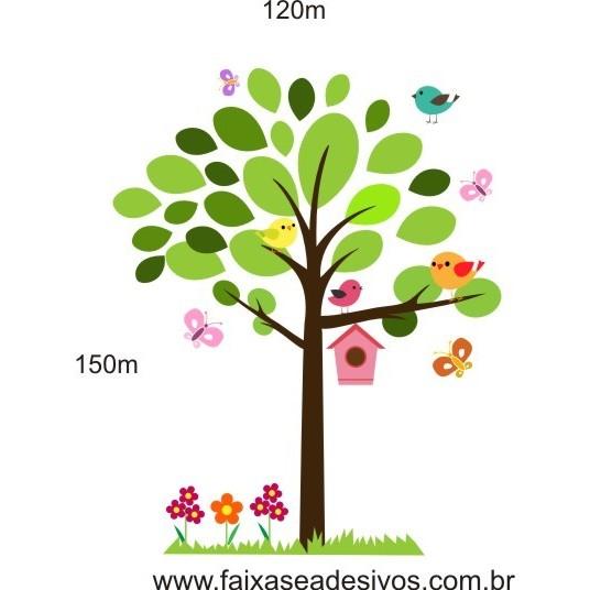 020 - Arvore Delicata Casa de Passarinhos  1,50 x 1,20m  - Fac Signs