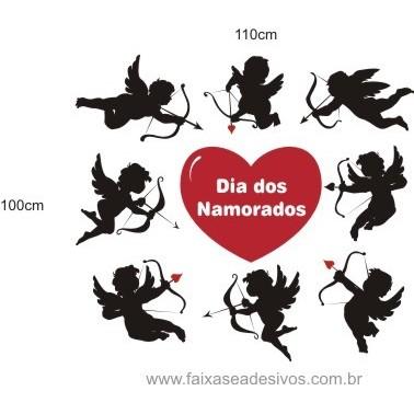 Adesivo Cupidos do Amor   - Fac Signs