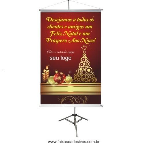 Banner Boas Festas (BF2014)  - Fac Signs