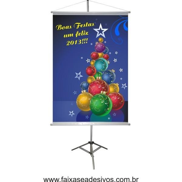 Banner Arvore Bolas de Natal (ABN2014)  - Fac Signs