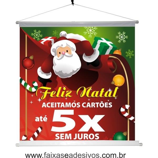 Banner Natal 5x (BN2014)  - Fac Signs