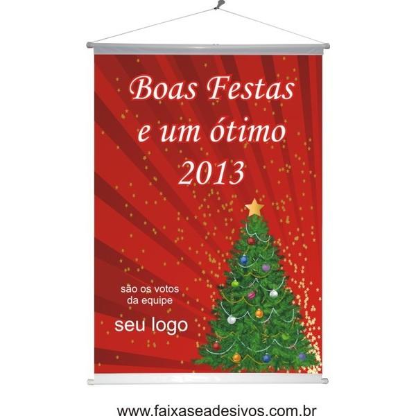 Banner Natal Arvore Verde (NAV2014)  - Fac Signs