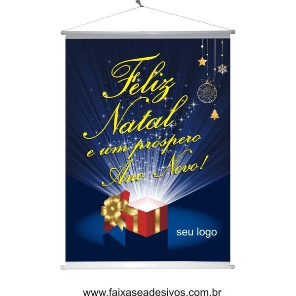 Banner Natal Caixa (NC2014)  - Fac Signs