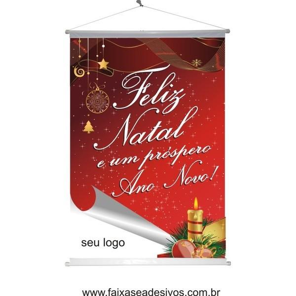 Banner Natal Vela (NV2014)  - FAC Signs Impressão Digital