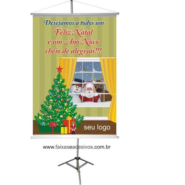 Banner Papai Noel na Janela (PNJ2014)  - Fac Signs