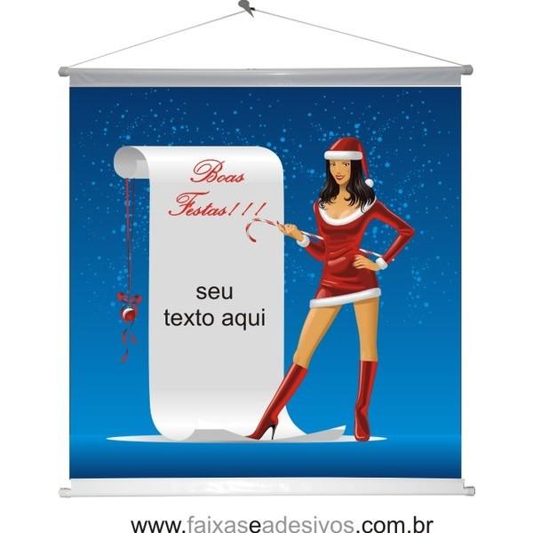 Banner Natal Mulher (NM2014)  - FAC Signs Impressão Digital