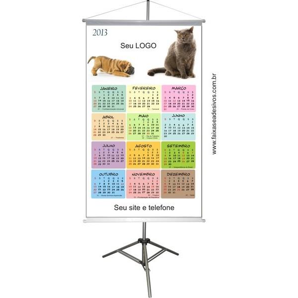Banner Calendário PET (CPET2014)  - Fac Signs