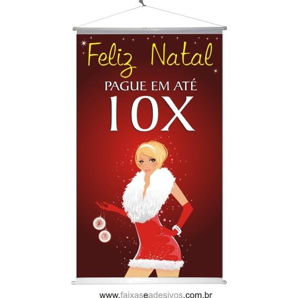 Banner Natal Woman (NW2014)  - Fac Signs