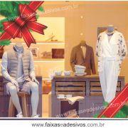 0192 - Adesivo Natal Laço de Canto