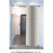 076 VD - Adesivo Jateado para vidro Dissolver 220x70cm