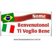 Faixa Intercambio Itália  - Escolha o tamanho