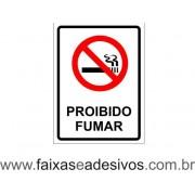 Proibido Fumar tradicional 20x15cm