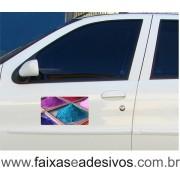 801 - Imã Flexivel para Carro 20x30cm - Envie arte pronta ou solicite a sua!