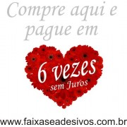 Adesivo Coração Flores 50 x 50cm