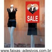 Adesivo Sale 45 x 70cm love