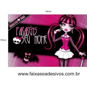Painel Monster High 1,50 x 1,00m
