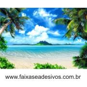 Painel Decorativo Praia