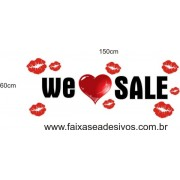 Adesivo We ? Sale 1,50 x 0,60m