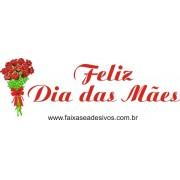 Dia das Mães adesivo ramalhete de rosas