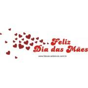 Adesivo Dia das Mães vento de corações