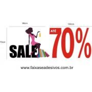 Adesivo Sale 70% 1,00 x 1,45m