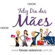 Adesivo dia das Mães - MÃES -120x100cm