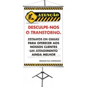 Banner Informativo (Estamos em Obras)