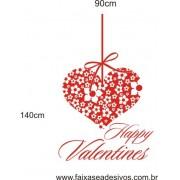 Adesivo Happy Valentines