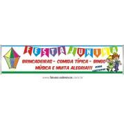 Faixa Balão Festa Junina 3,00 x 0,70m