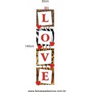 Adesivo Love Chic 1,40 x 0,30m