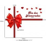Adesivo Laço dos Namorados 1,00 x 1,20m