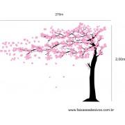 006 - Arvore Adesivo Decorativo Cerejeira  2,70 x 2,00m