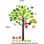 020 - Arvore Delicata Casa de Passarinhos  1,50 x 1,20m