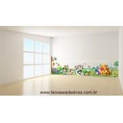 Infantil Adesivo Decorativo Brinquedoteca 2,20 x 0,60m