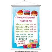 Banner de Horário de Natal (HN2014)